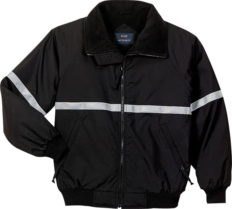 Port Authority OUTERWEAR メンズ True Black/ True Black/ Reflective 6X Big  B071H93ZTT