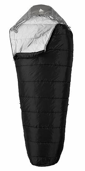 Kelty Cosmic 35 Degree sintético Saco de Dormir, Hombre, Solid Black