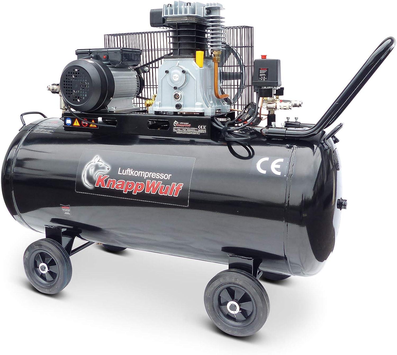 Knappwulf Kw3500 Compressor Air Compressor 200 L Boiler 230 V Baumarkt