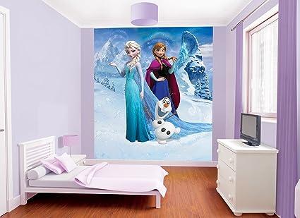 Delicieux Walltastic 8 X 6 Ft 6 Inch Paper Disney Frozen Wall Mural, Multi