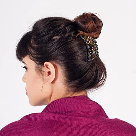 Amazon.com : HairZing Clic Criss-Cross, Hair Accessory Perfect ...
