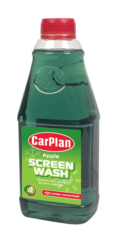 Carplan Apple Fragranced Screenwash 1L Tetrosyl Ltd FSW161 B00499DFAA