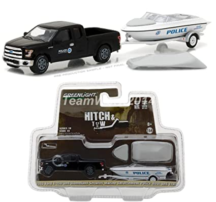 Amazon greenlight 164 homeland security ford f 150 police greenlight 164 homeland security ford f 150 police boat w trailer aloadofball Image collections