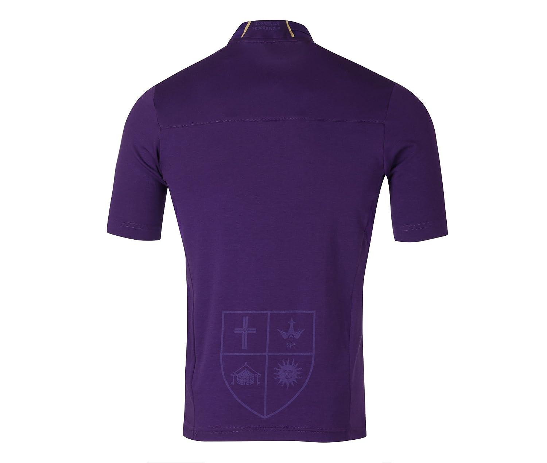 2a528deecdd Amazon.com   Le Coq Sportif 2018-2019 Fiorentina Home Football Soccer  T-Shirt Jersey   Sports   Outdoors