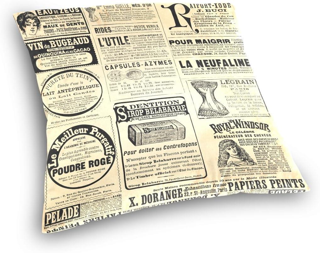 Amazon.com: Ye tienda periódico publicidad página algodón ...