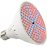 Round LED Full Spectrum Grow Light by Bryt – 15Watt Plant Growing Light Bulb for Hydroponic, House Plant and Indoor Gardens; Replicates Natural Sunlight; Energy Efficient and Long Lasting