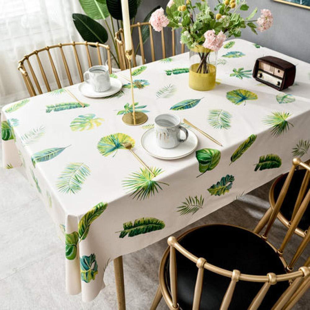 WJJYTX gartentischdecke eckig, Tischdecke Tischdecke und Tischdecke Tropical Rainforest @ 140 * 180