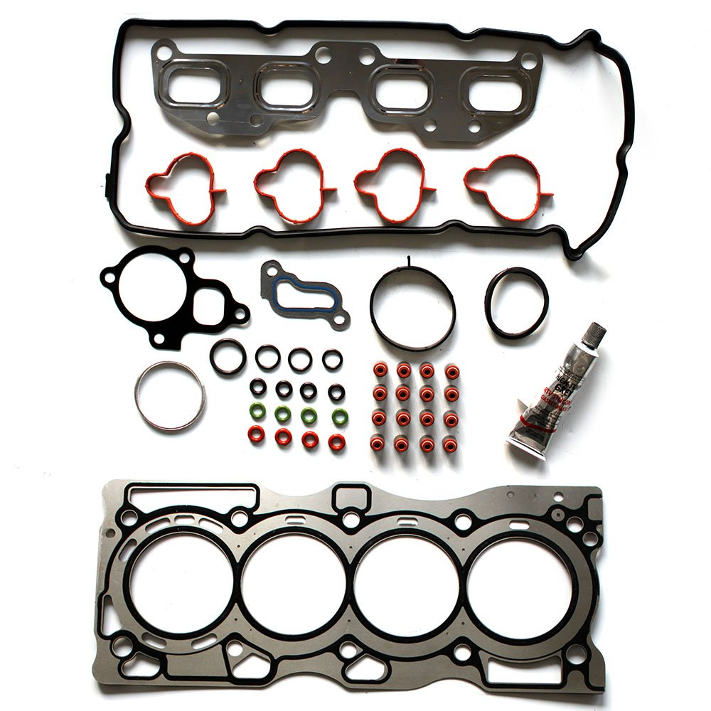 ECCPP Replacement for Engine Head Gasket Sets for 2005-2013 Nissan Frontier Suzuki Equator 2.5L 16V Cylinder Head Gasket Kits HS26520PT