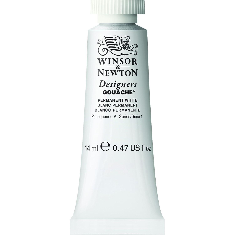 Winsor & Newton Designers Gouache Tube, 14ml, Permanent White