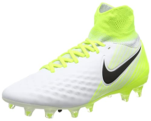 super popular 34029 500ad Nike Jr Magista Obra II Fg, Scarpe da Calcio Unisex-Bambini, Bianco (
