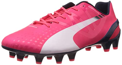 d07c730a1b7c2 Puma Mens evoSPEED 1.3 FG Football boots (training) Red Rot (bright plasma-