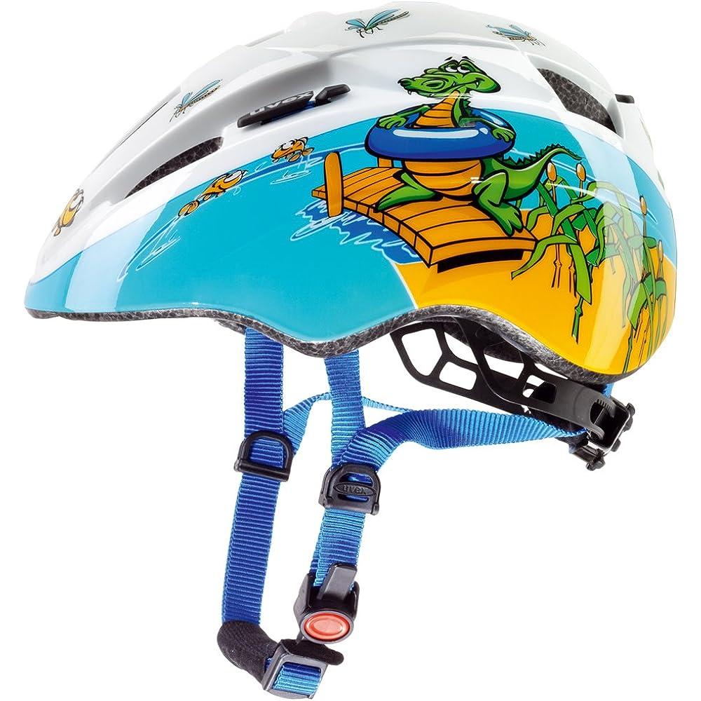 Vor allem für Kinder (z.B. von Uvex) ist ein Fahrradhelm unabdingbar.