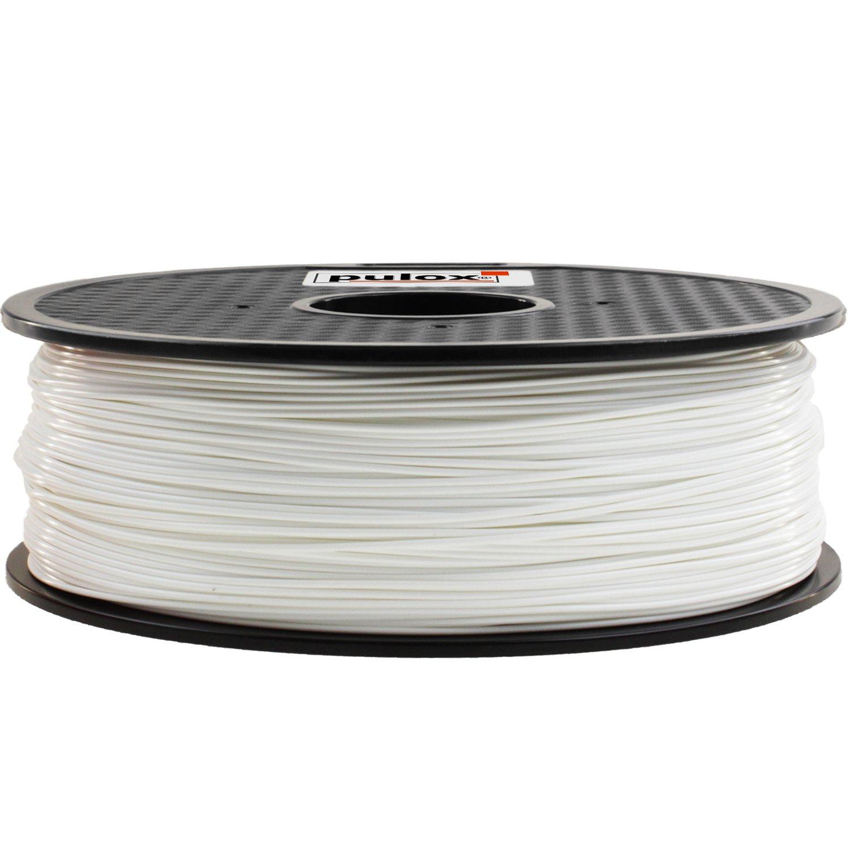 PULOX 3d impresora HIPS filamento Blanco 1.75 mm: Amazon.es ...