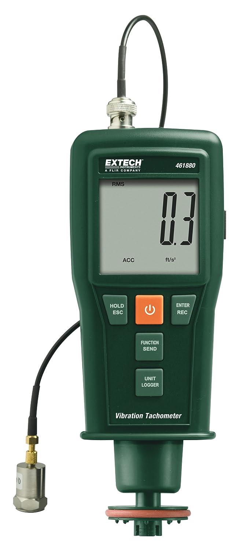 Extech 461880 Medidor de vibración + tacómetro láser/de contacto: Amazon.es: Industria, empresas y ciencia