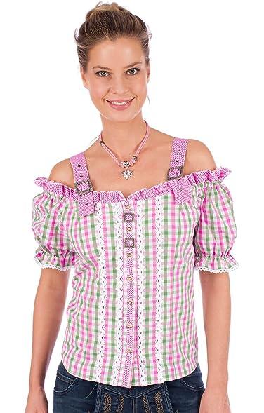 Orbis Trachtenbluse 951000-3374 pink grün, 34