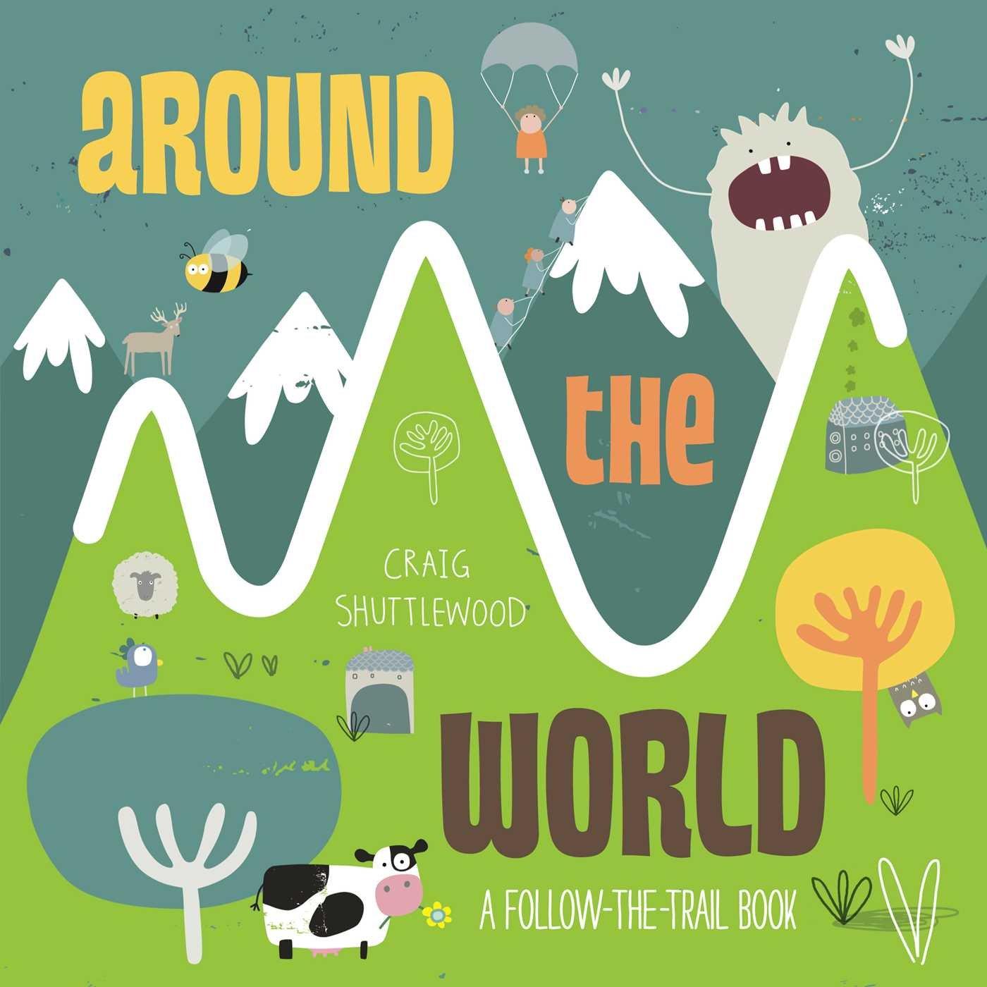Around the World: A Follow-the-Trail Book pdf epub