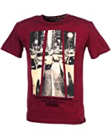 Tee-Shirt MC Gonx Burgundy - Kaporal