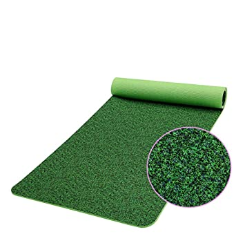 Colchoneta de yoga con materiales ecológicos. Verde de alta ...
