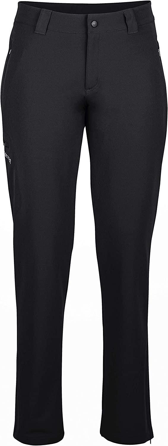 Marmot Wm's Scree Pant Long Softshell Trekking Pants, Outdoor Trouser, Water Repellent, Breathable, Mujer