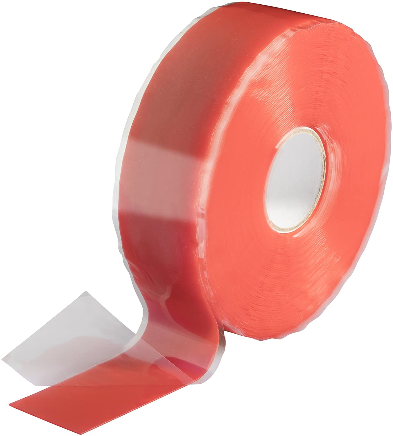 Poppstar 4x 3m Self-Fusing Silicone Band, Silicone Tape, Repair Tape, Electrical Tape and Sealing Strip (water-tight, air-tight), 25mm wide, transparent 1008720