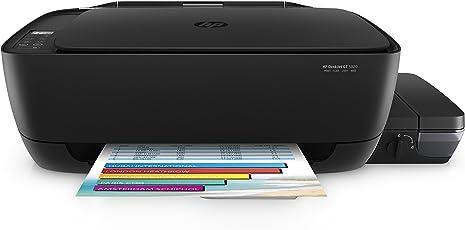 HP Deskjet GT 5820 Kronos Impresora Multifuncional, Tinta Continua, WiFi P0R21A, Color Negro
