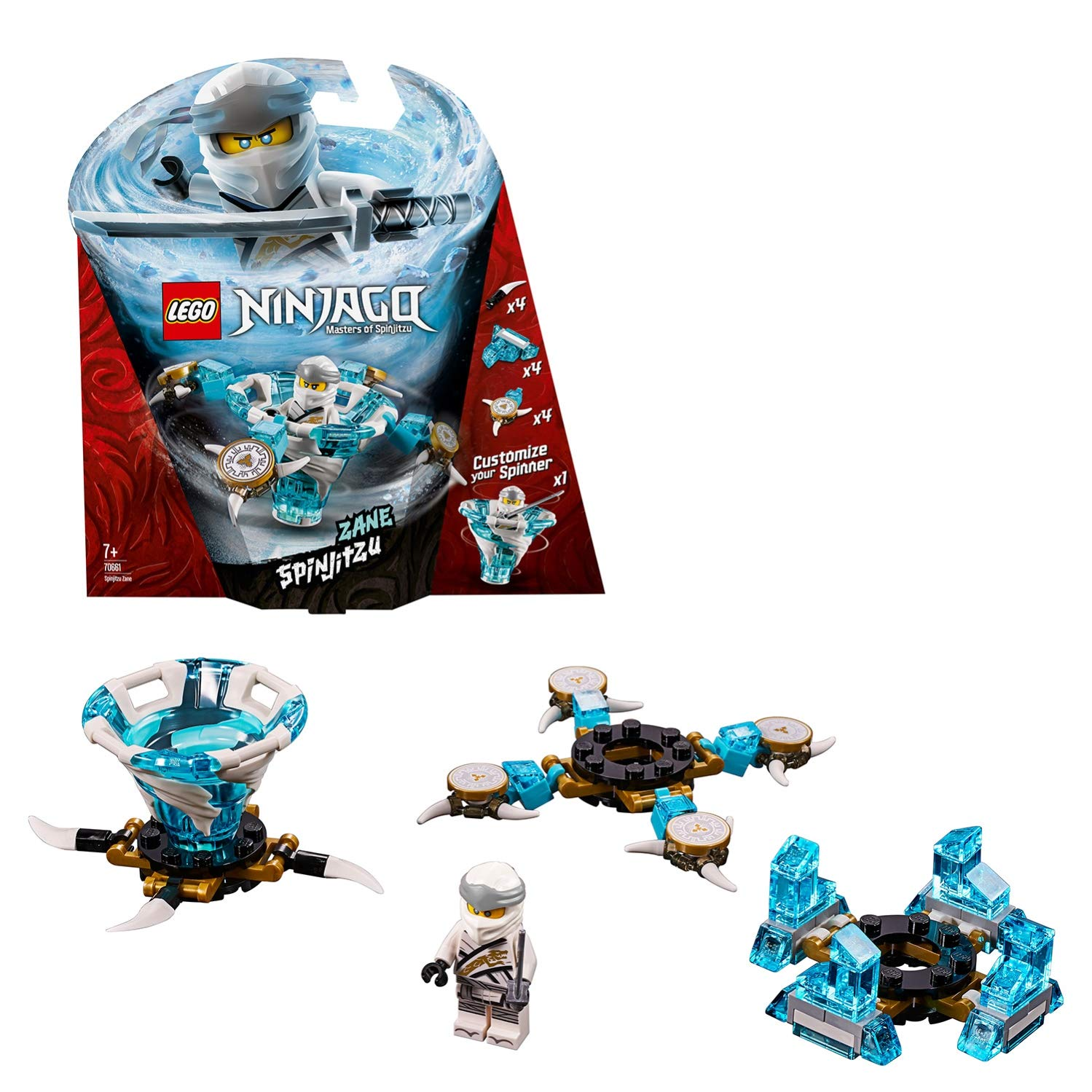 Lego UK 70636 Ninjago Zane Spinjitzu Master