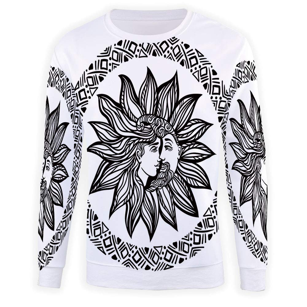 Adult Sun Crewneck Sweatshirt
