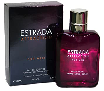 Amazoncom Estrada Attraction Magnetism Men Perfume 34 Oz Eau De