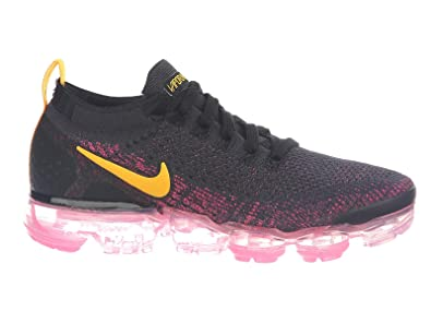 reputable site 9ca21 dfcd9 Nike Women's Air Vapormax Flyknit 2 Running Shoes (7, Pink/Black)