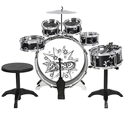 Amazon Com Eight24hours Kids Drum Set Kids Toy With Cymbals Stands