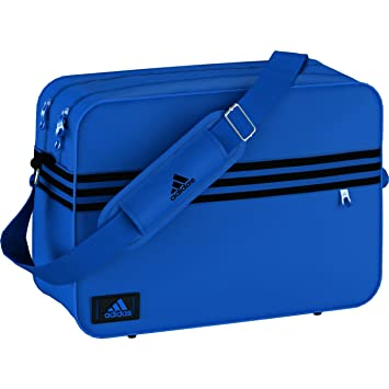 0c9021be40 adidas Unisex Adult ENAMEL M Sports Bag - Blue