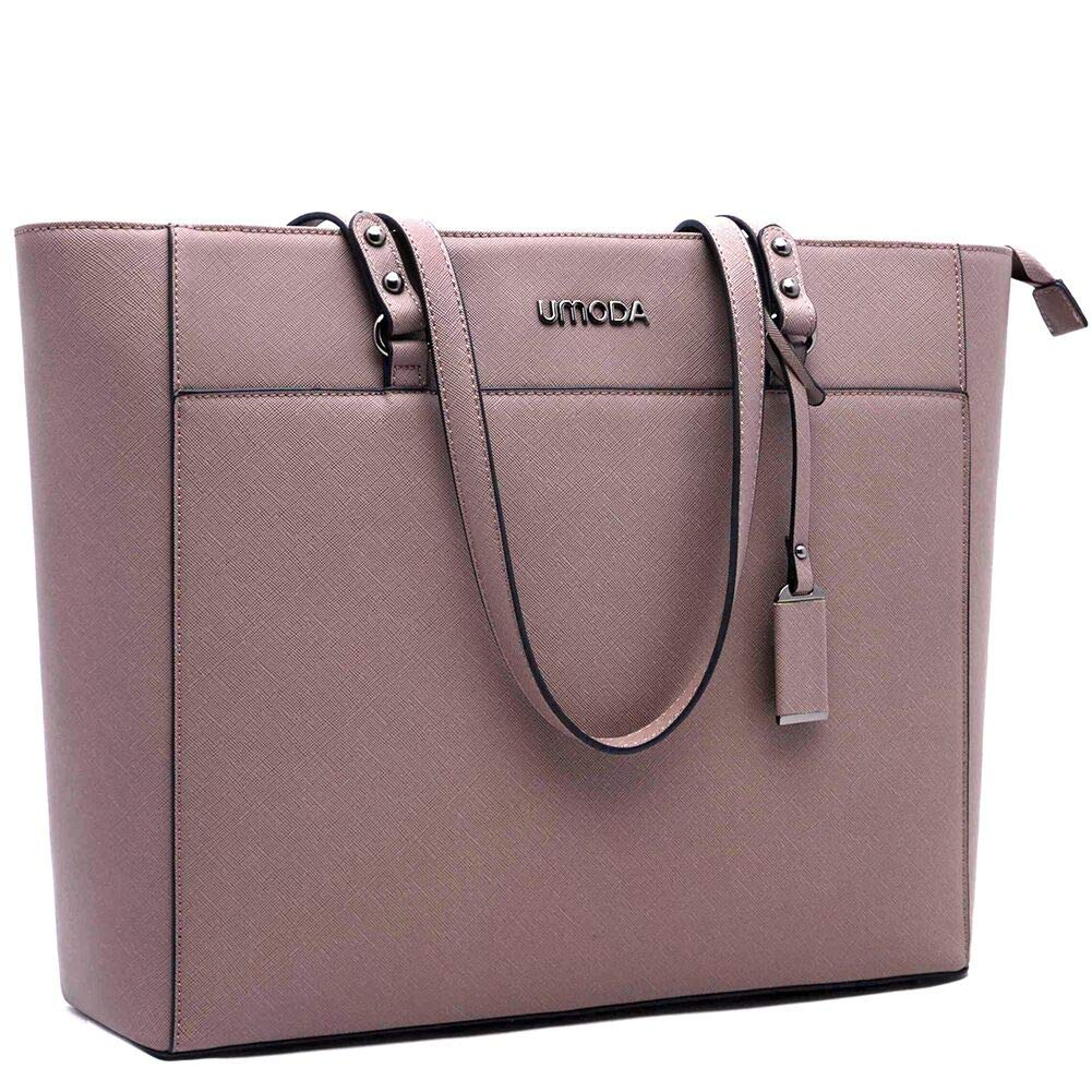 Laptop Bag for Woman,13-15.6 Inch Laptop Tote Bag Briefcase with Padded Compartment, Best [Purple] by UMODA (Image #1)