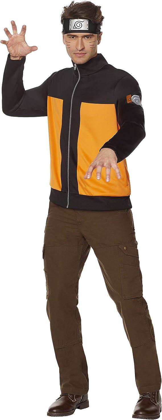 Spirit Halloween Adult Male Naruto Jacket Clothing Amazon Com