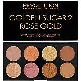 Makeup Revolution Palette, Blush Bronze Highlight, Golden Sugar 2 Rose Gold