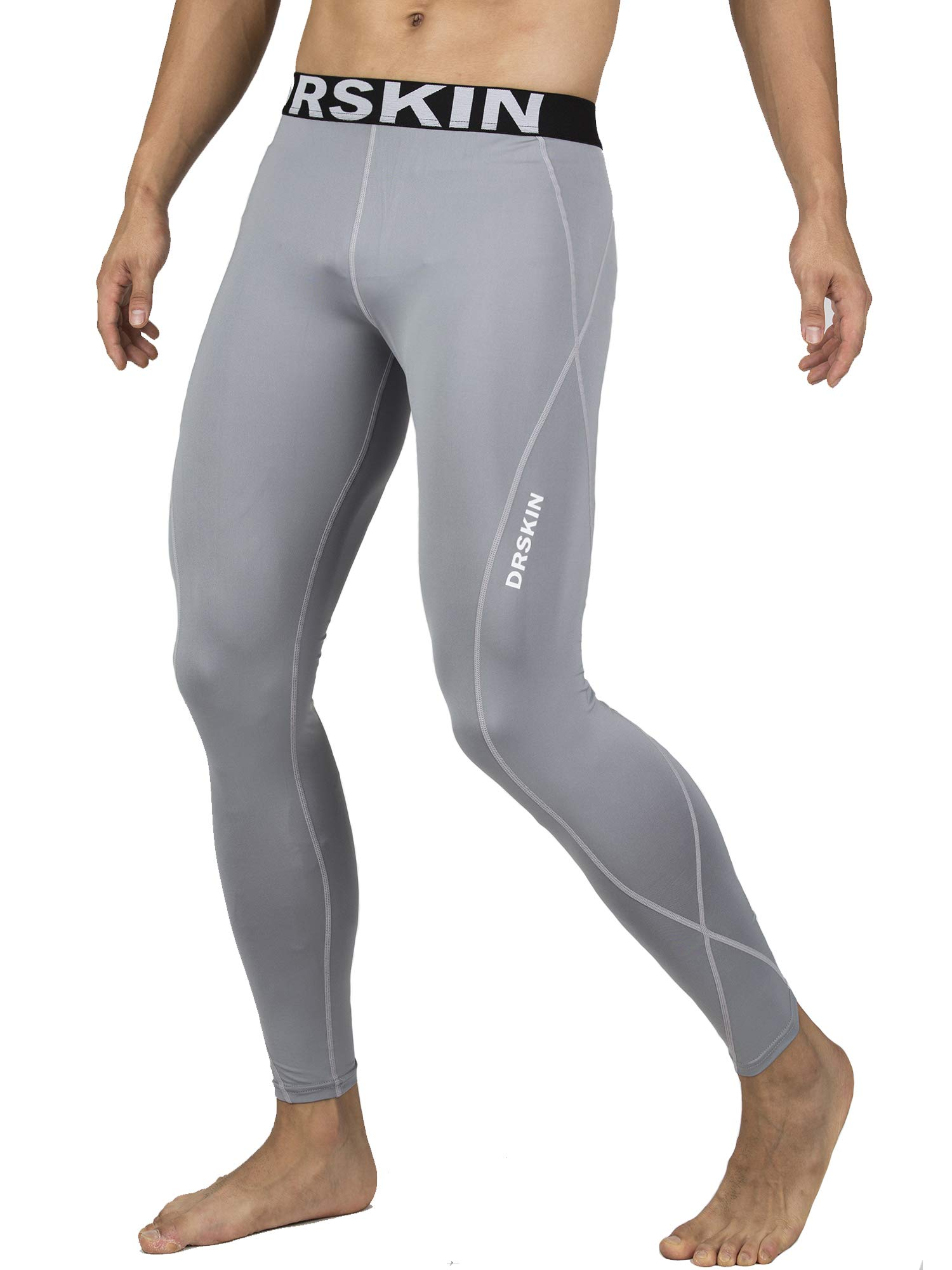 454a31342ca16a Galleon - DRSKIN Compression Cool Dry Sports Tights Pants Baselayer Running  Leggings Yoga Rashguard Men (4XL, DG03)