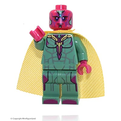 LEGO Marvel Super Heroes Minifigure - Vision: Toys & Games