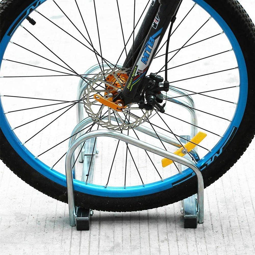 LARS360 Bicicleta Soporte para 2 bicicletas de suelo y pared montaje m/ás soporte Triple Twin Bicycle Stand