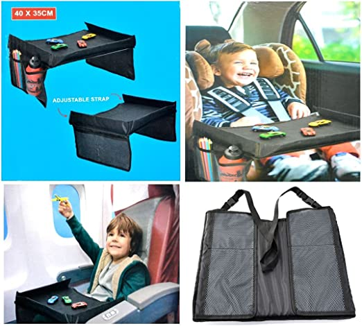 KIDS TRAVEL TRAYER ORGANIZADOR SNACK & PLAY / PRÁCTICA MESA DE ...