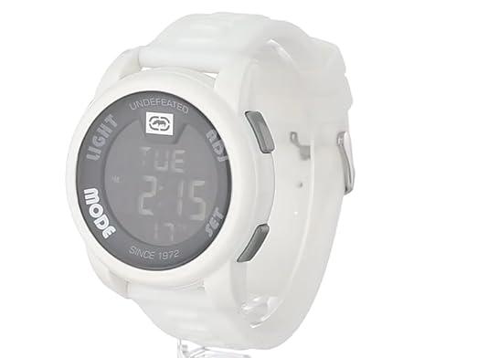 Amazon.com: Marc Ecko Mens E07503G2 20-20 Digital White Resin Strap Watch: Marc Ecko: Watches