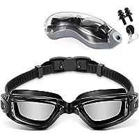 Jasonwell Googles para Natacion,Swimming Goggles Anti Fog y Protección UV,con Puente Flexible de Punta Suave y de Espejos coloreados, Libre de Fugas para Adulto Hombres Mujeres Júnior