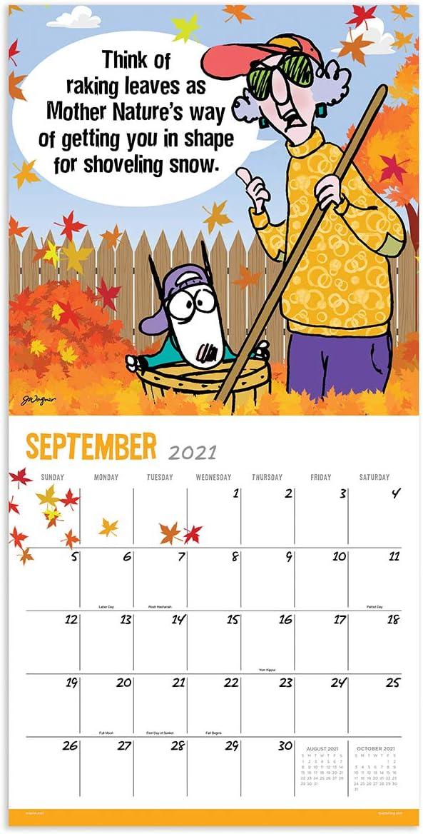 2021 Maxine 12x12 Wall Calendar