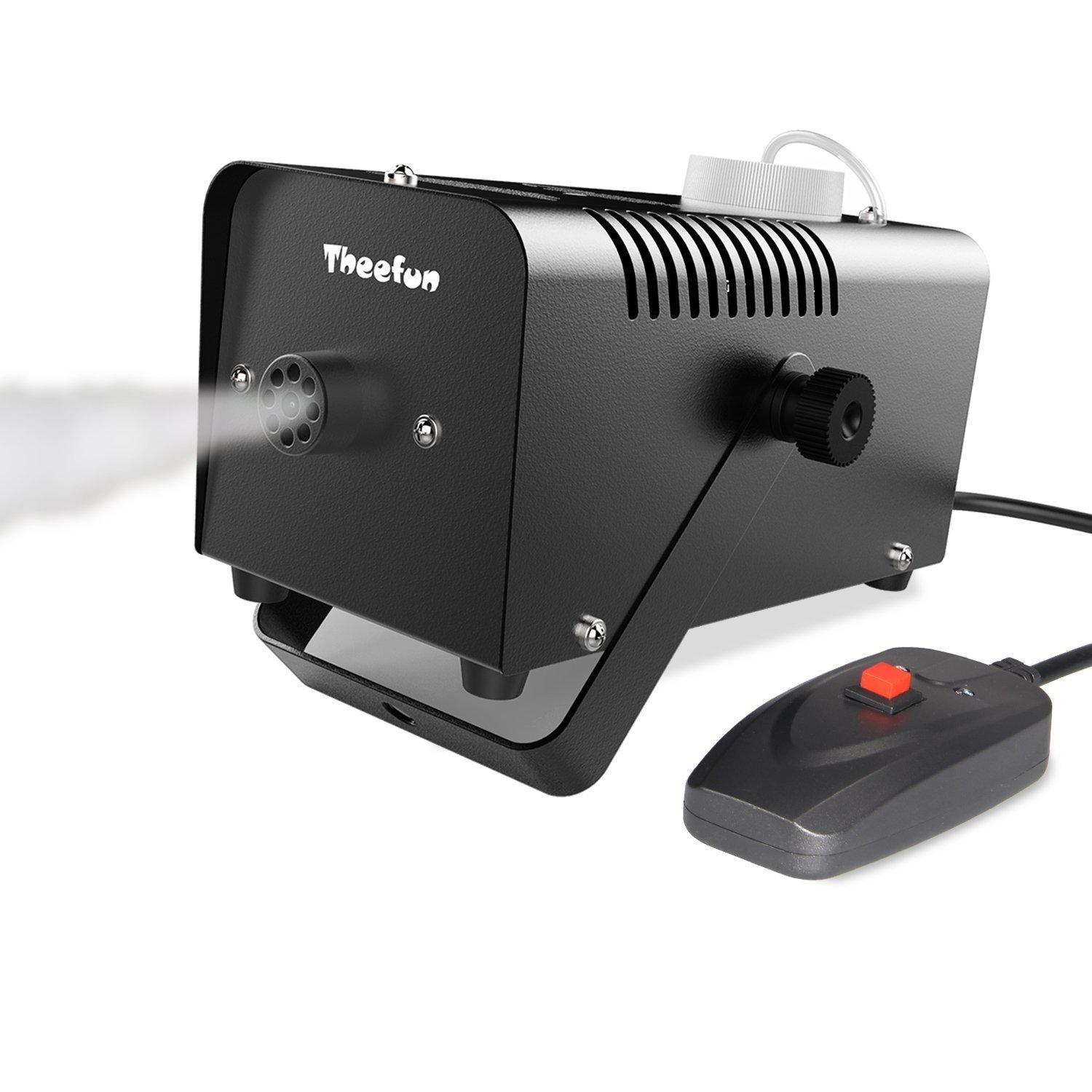 Theefun 400-Watt Portable Halloween and Party Fog Machine with Wired Remote Control for Holidays, Weddings - impressive output TFM01