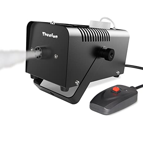 Amazon.com  Theefun 400-Watt Portable Halloween and Party Fog Machine with  Wired Remote Control for Holidays 15ced7981fb7