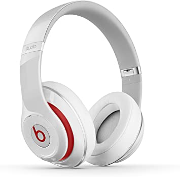 Amazon Com Beats Studio Wired 2 0 Over Ear Headphone White Home Audio Theater