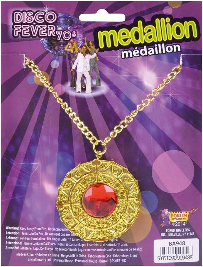 Gold Disco Fever  Medallion