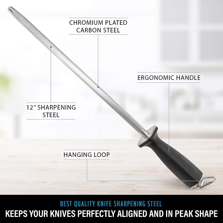 Amazon.com: Afilador superior para cuchillos rectos y ...