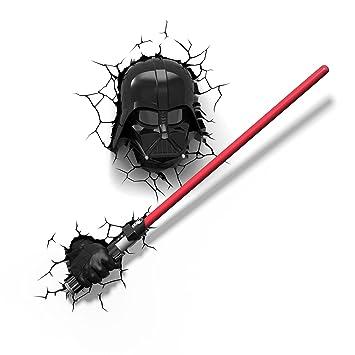 Star Wars Darth Vader Masque Darth Vader Sabre Laser 3d Applique