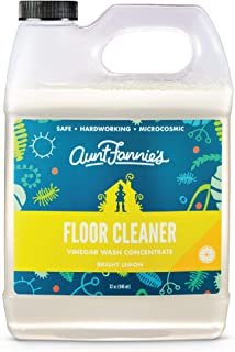 product image for Aunt Fannie's Floor Cleaner Vinegar Wash - Multi-Surface Cleaner, 32 oz. (Single Bottle, Bright Lemon)