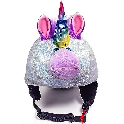 CrazeeHeads Sparky The Unicorn Helmet Cover: Sports & Outdoors