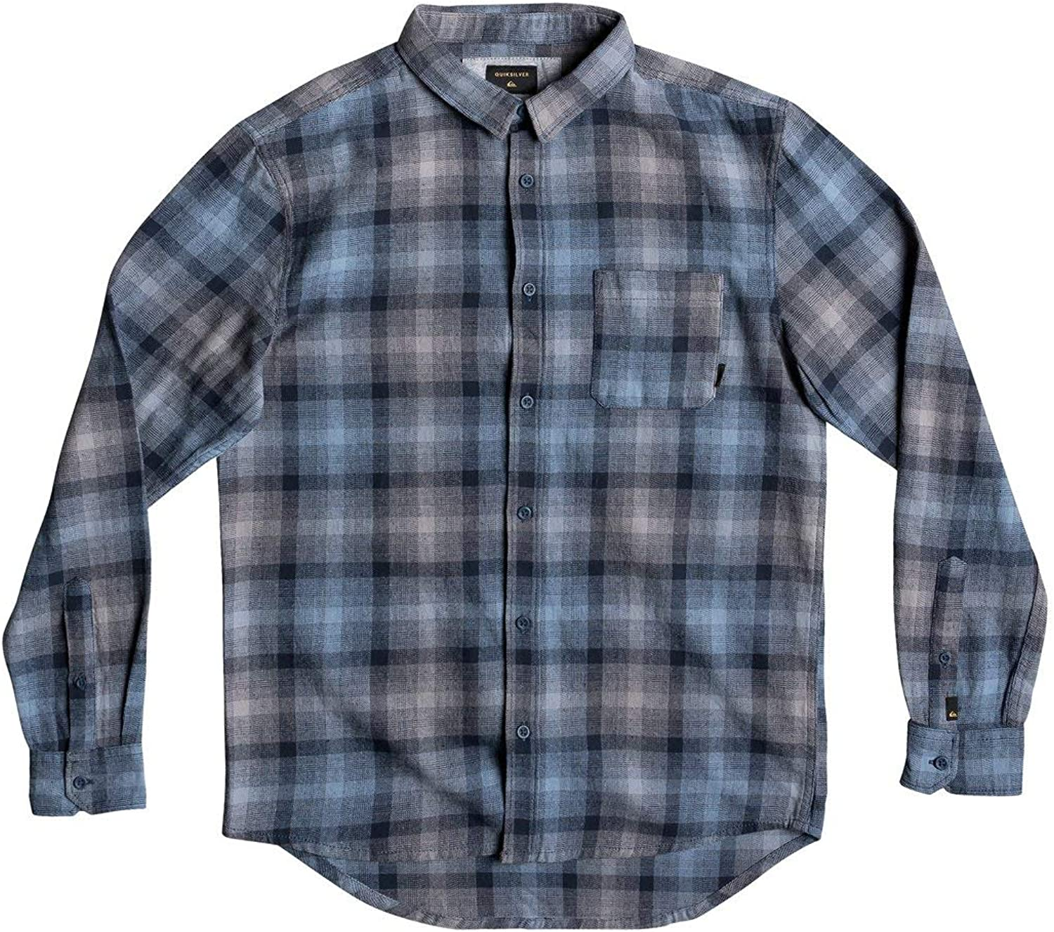 QUIKSILVER Mens Fatherfly Shirt Long Lseeve